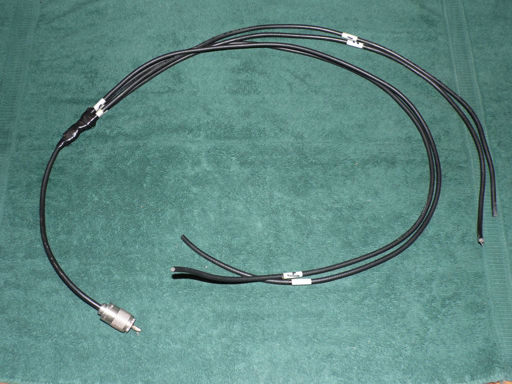 The W9fe Ham Radio Corner 10 15 17 22 Wire Harness Shield Feed Numbered Wiring Cables Through Center Hole Of Pvc Tee And Corresponding Labeled