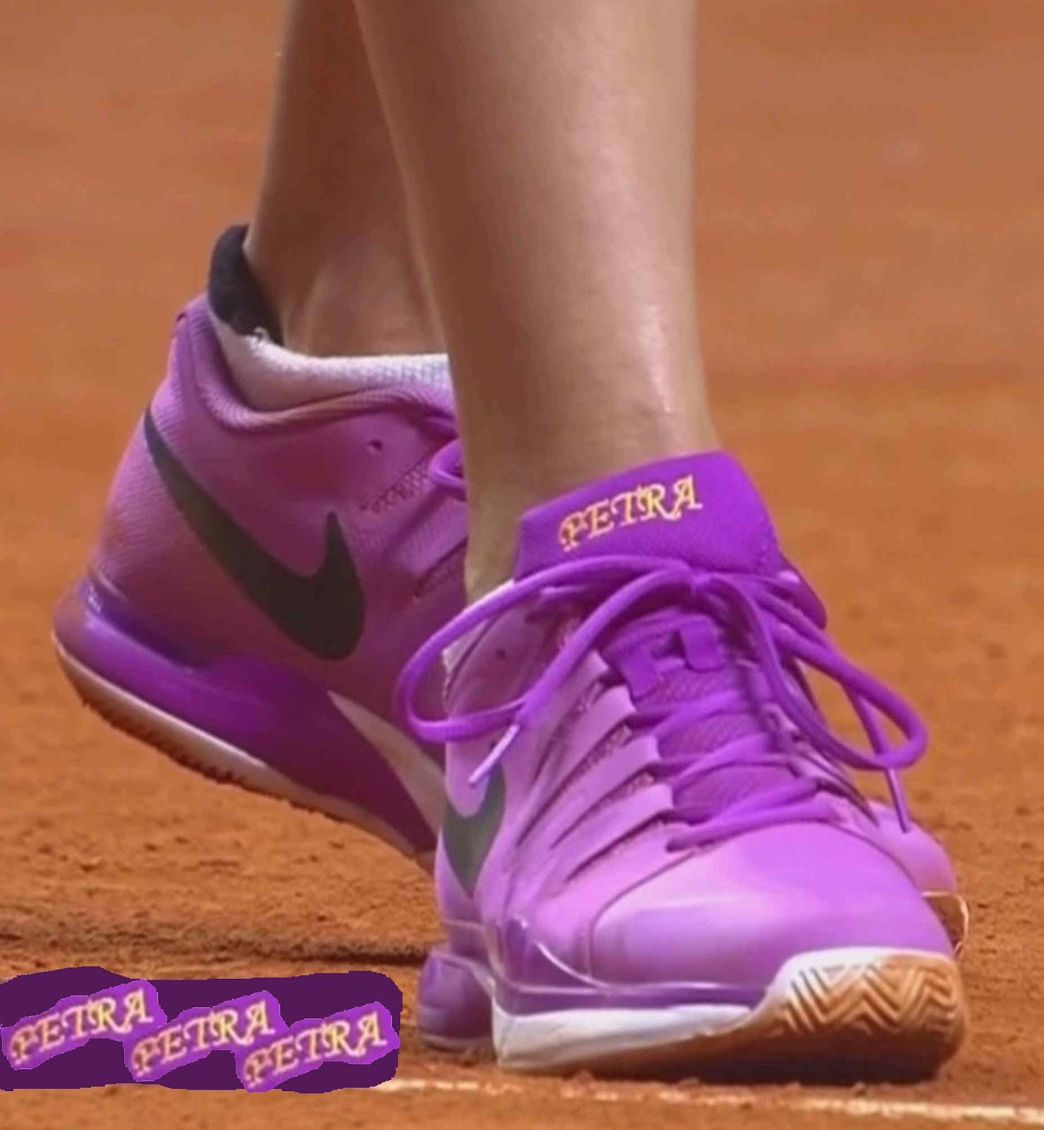 2b3d4ad9b67 It's All About the Shoe+: Kvitova's Nike Zoom Vapor 9.5 Tour