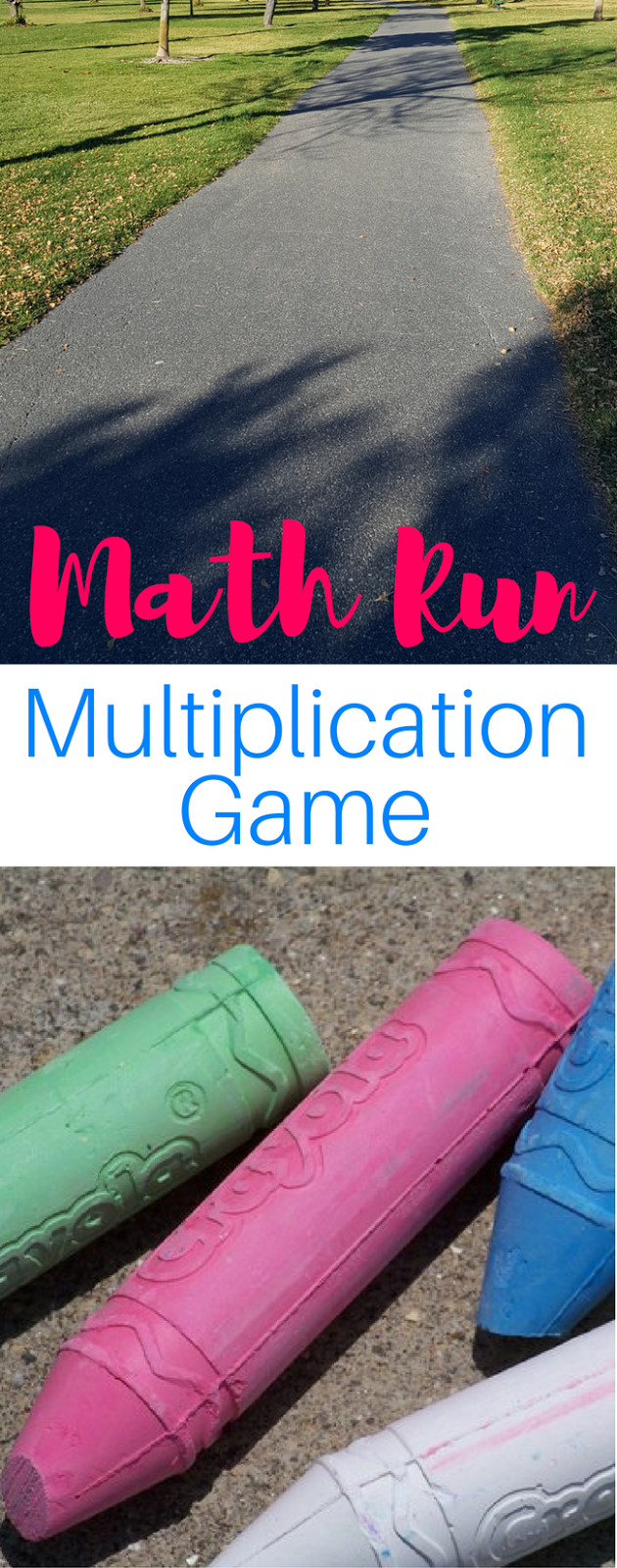 Math Run Game - Multiplication Activity