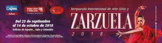 TEMPORADA Internacional de Ópera y Zarzuela 2018