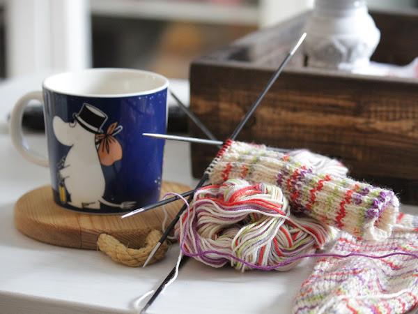Kahvia ja villasukkia!