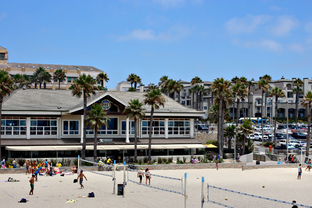 Restaurante Sandy's em Huntington Beach