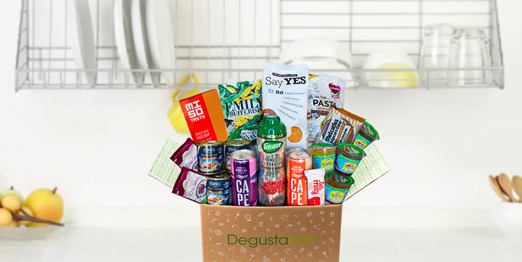 Food subscription box Degusta Box blog review