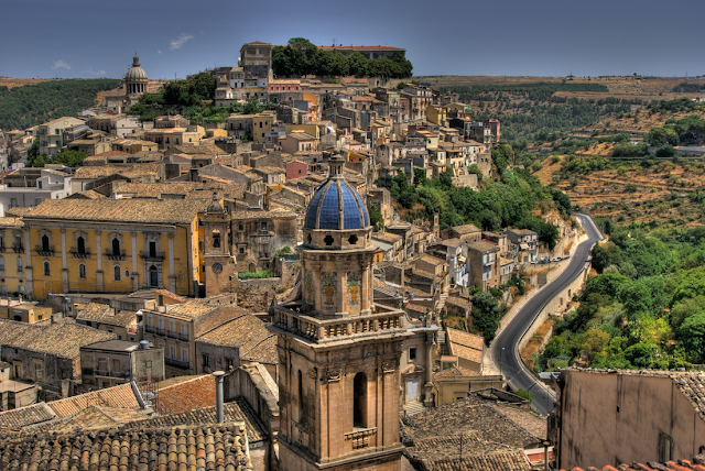 Capital of the province of Ragusa, Sicily