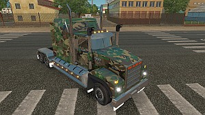 Army Camo skin for Mack Titan