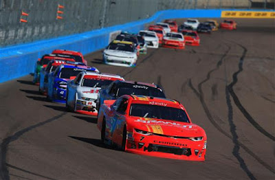 Justin Allgaier and the BRANDT Professional Agriculture team secured a spot in the Championship 4 following their 10th-place finish in Saturday's Ticket Galaxy 200 at Phoenix Raceway.