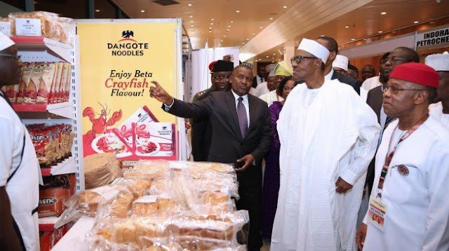 Dangote to Buhari: Manufacturers need incentives, reliefs