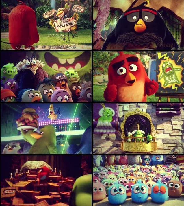 The Angry Birds Movie 2016 English 480p HDTC