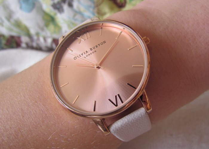 88ba634b0ea7 Olivia Burton Rose Gold Watch. Olivia Burton Big Dial ...