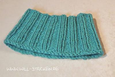 Kinder Kragenschal oder Loop stricken