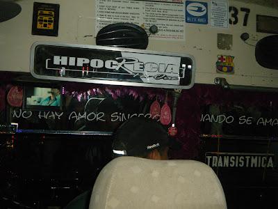 Panama bus interior