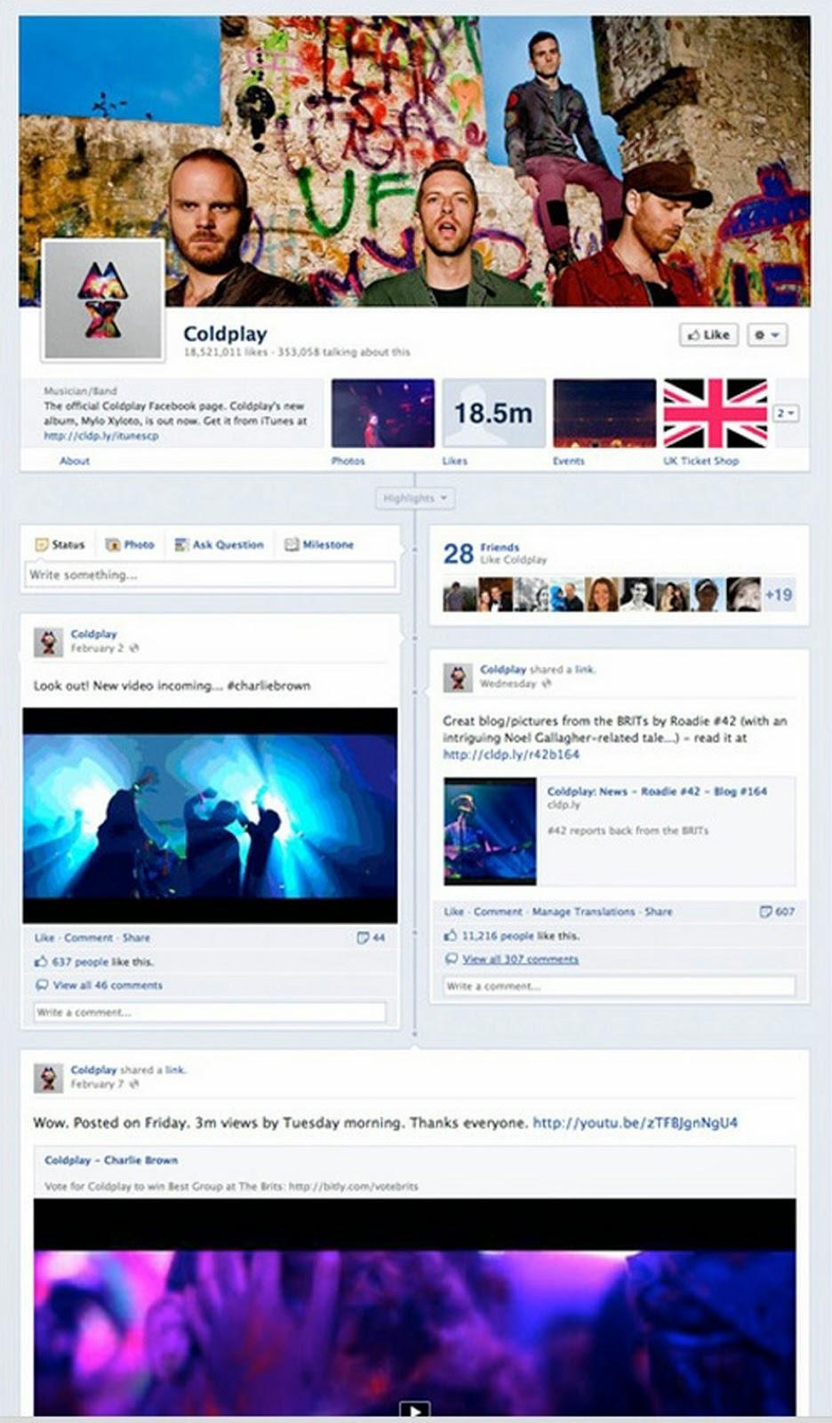 facebook página