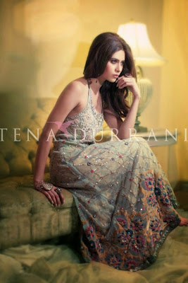 Tena Durrani Stylish Winter Bridal Collection 2014-2015 fashionwearstyle.com
