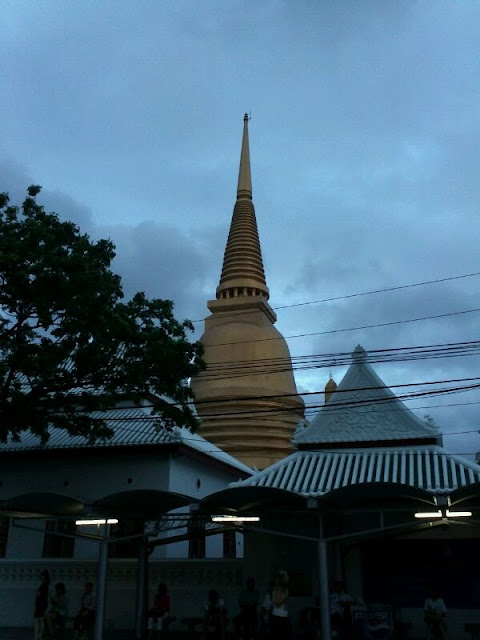 Templos de colores en Bangkok