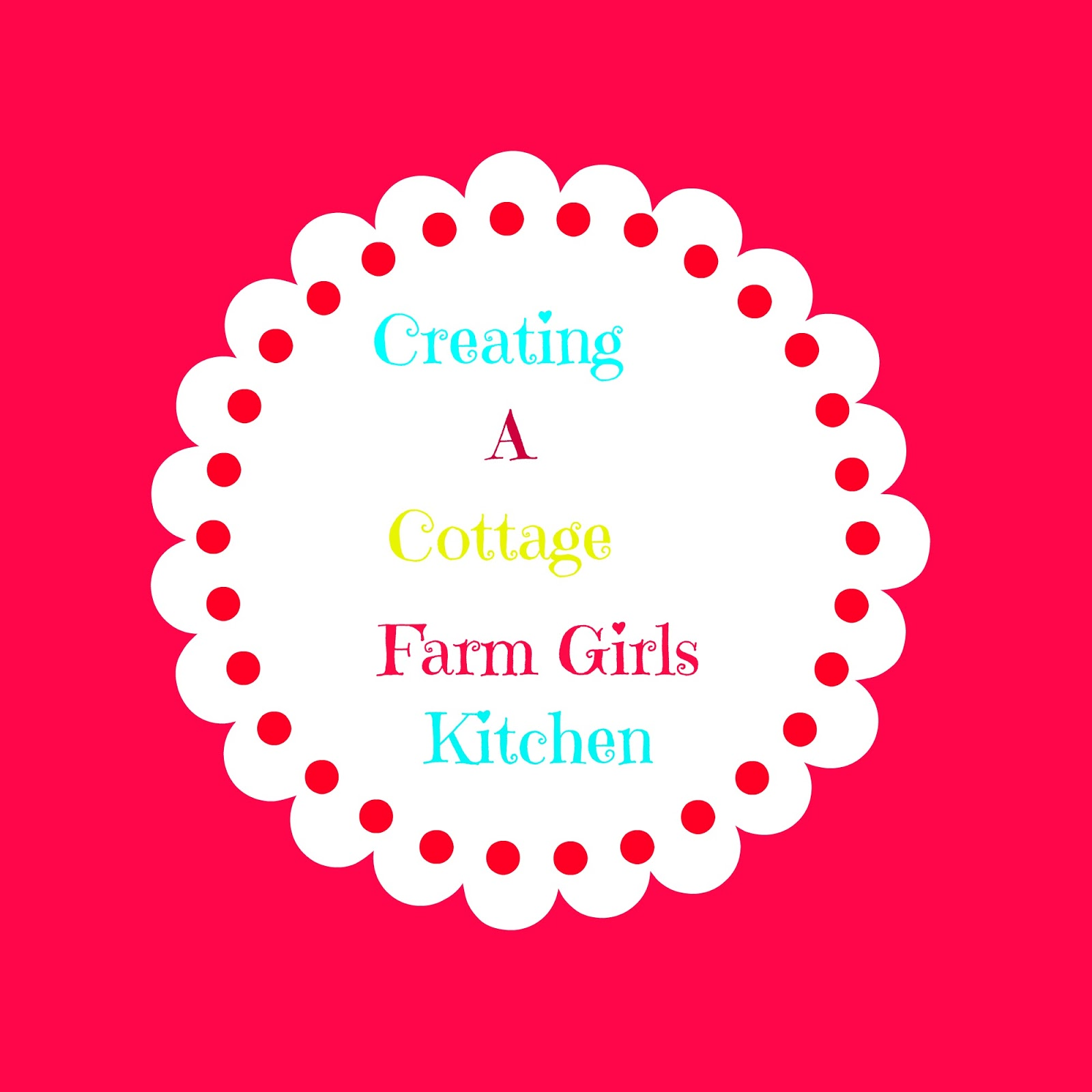 Creating A Cottage Farmgirl's Kitchen