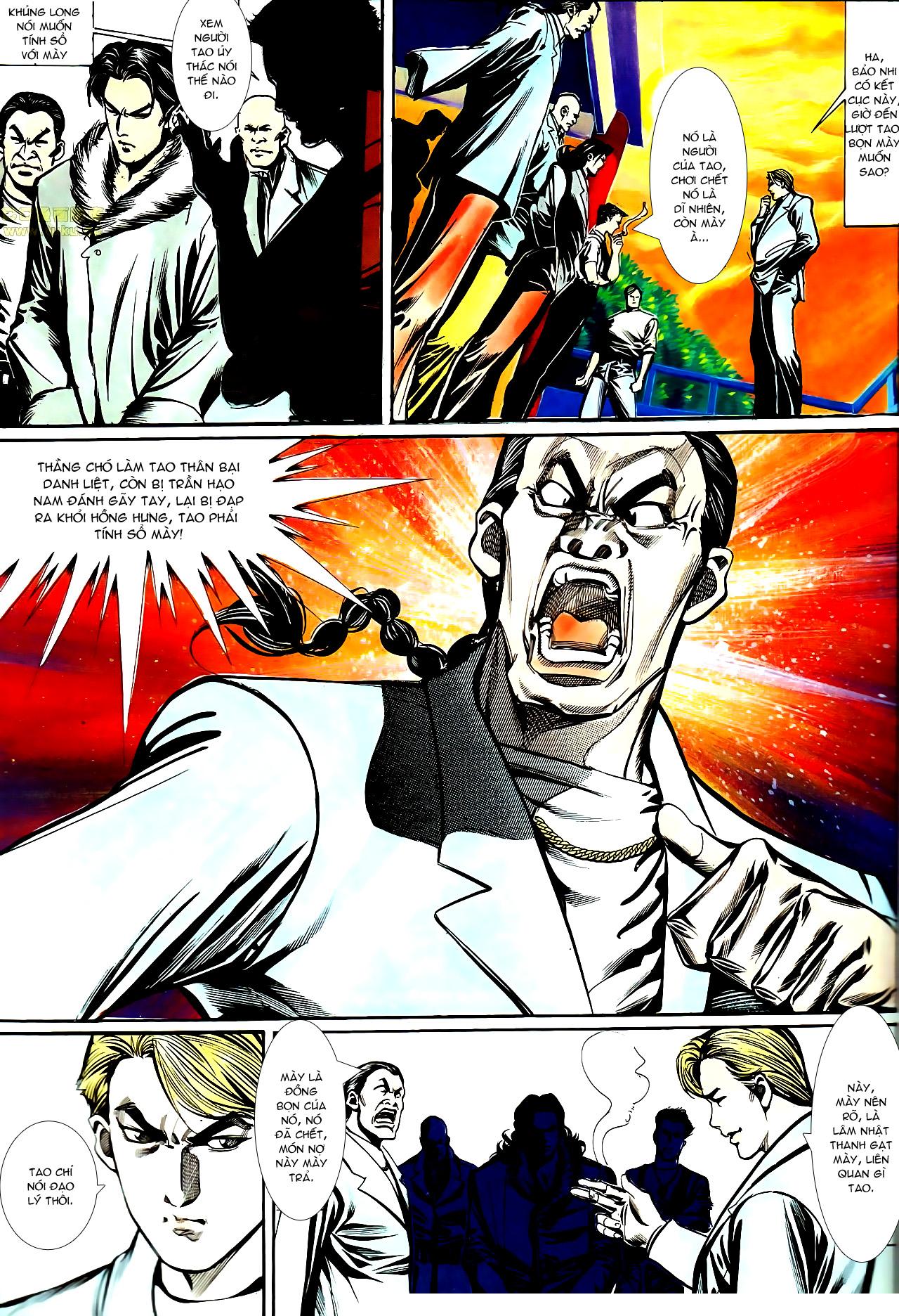 Người Trong Giang Hồ chapter 147: vĩnh biệt kk trang 12