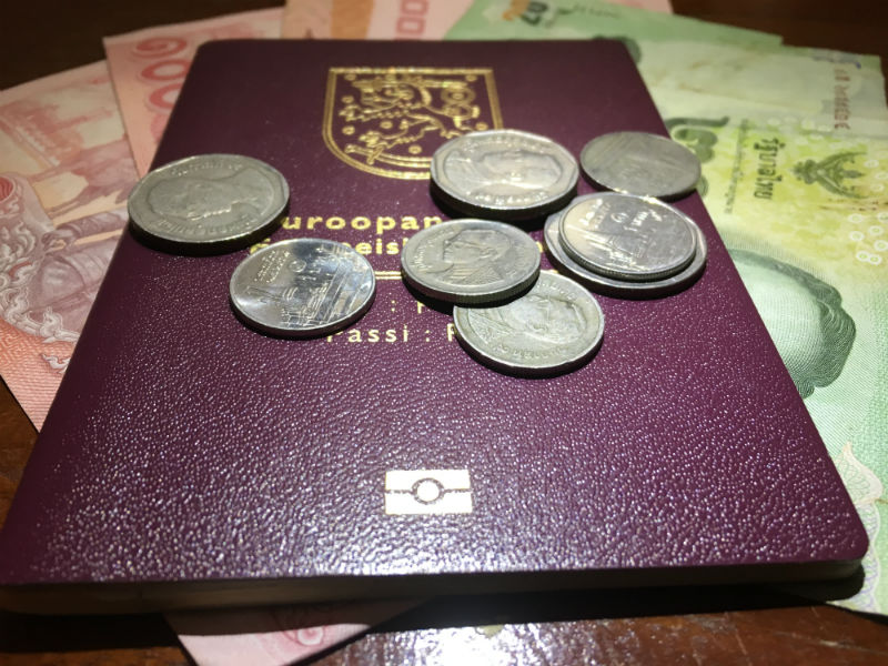 Eläkkeellä Thaimaahan talouskirjanpito