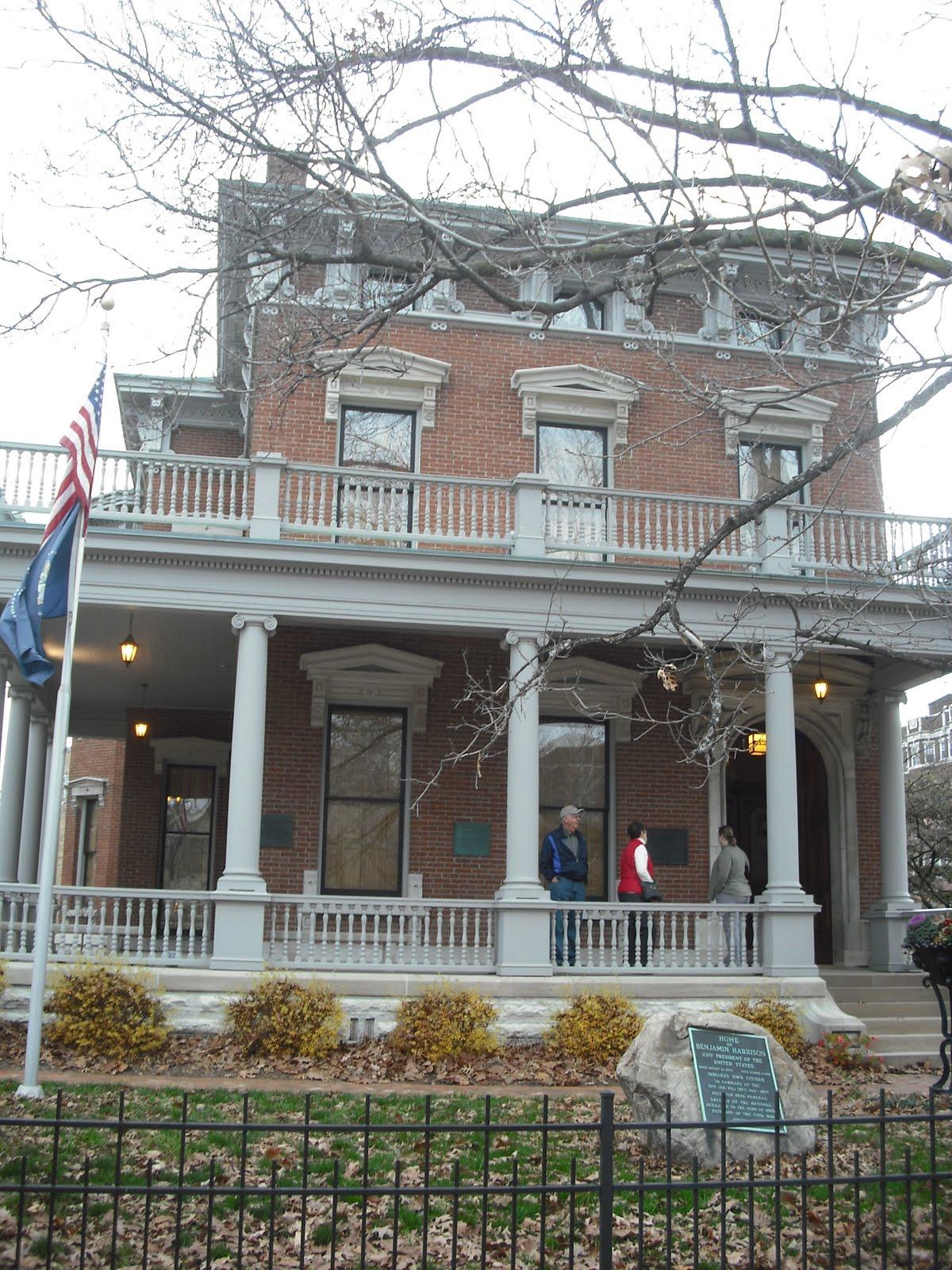 Kentucky Travels: Benjamin Harrison House- Indianapolis IN  Benjamin Harrison House
