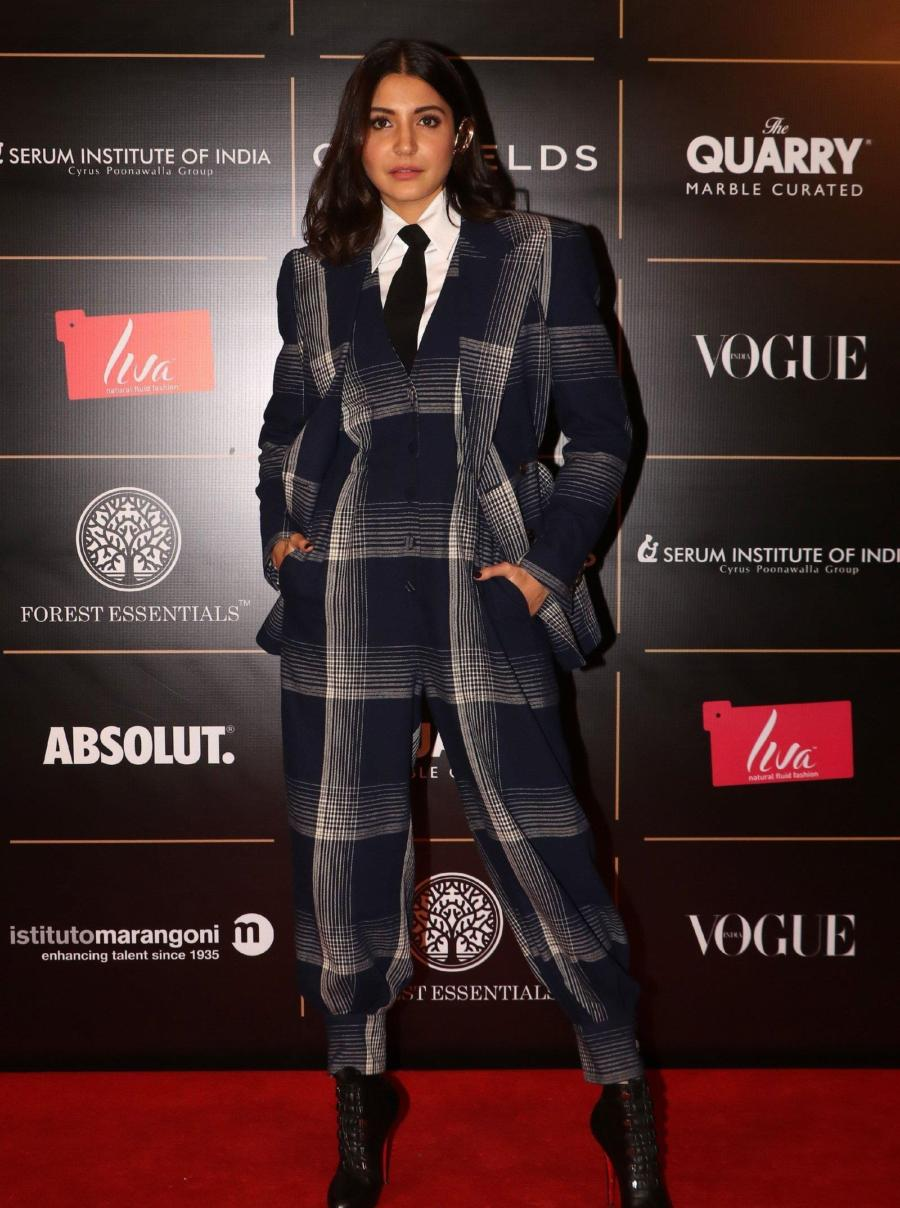 Anushka Sharma at Red Carpet Ceremony Of Vogue Women Of The Year 2019