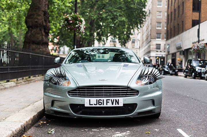 Car Eyelashes: Photo: Car Lashes On Aston Martin DBS