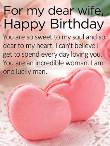 Birthday Wishes For Wife From Husband Quotes Messages Images