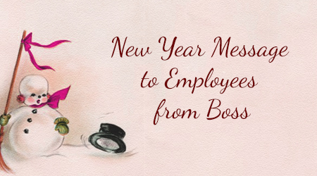 best 2017 happy new year message for boss employee