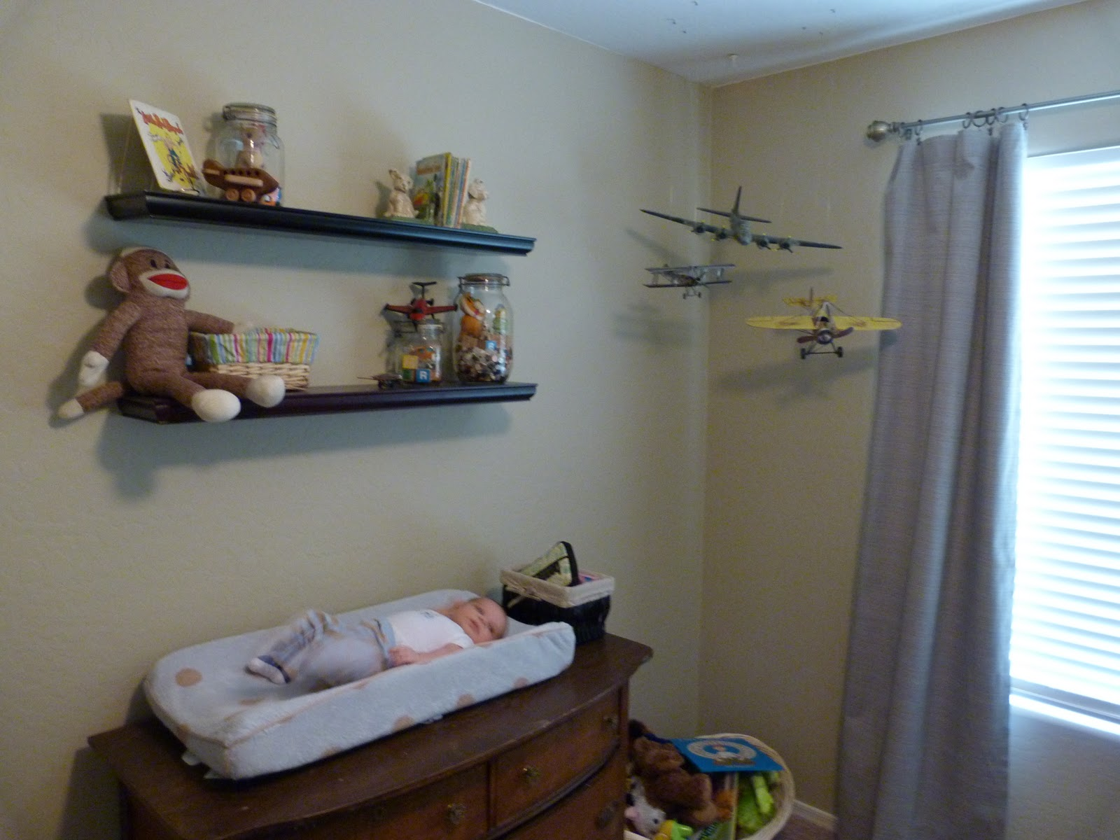 Twice As Nice Vintage Airplane Nursery