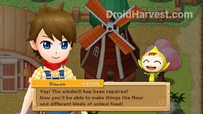 Harvest Moon: Light of Hope Gude: Building repairs and upgrades