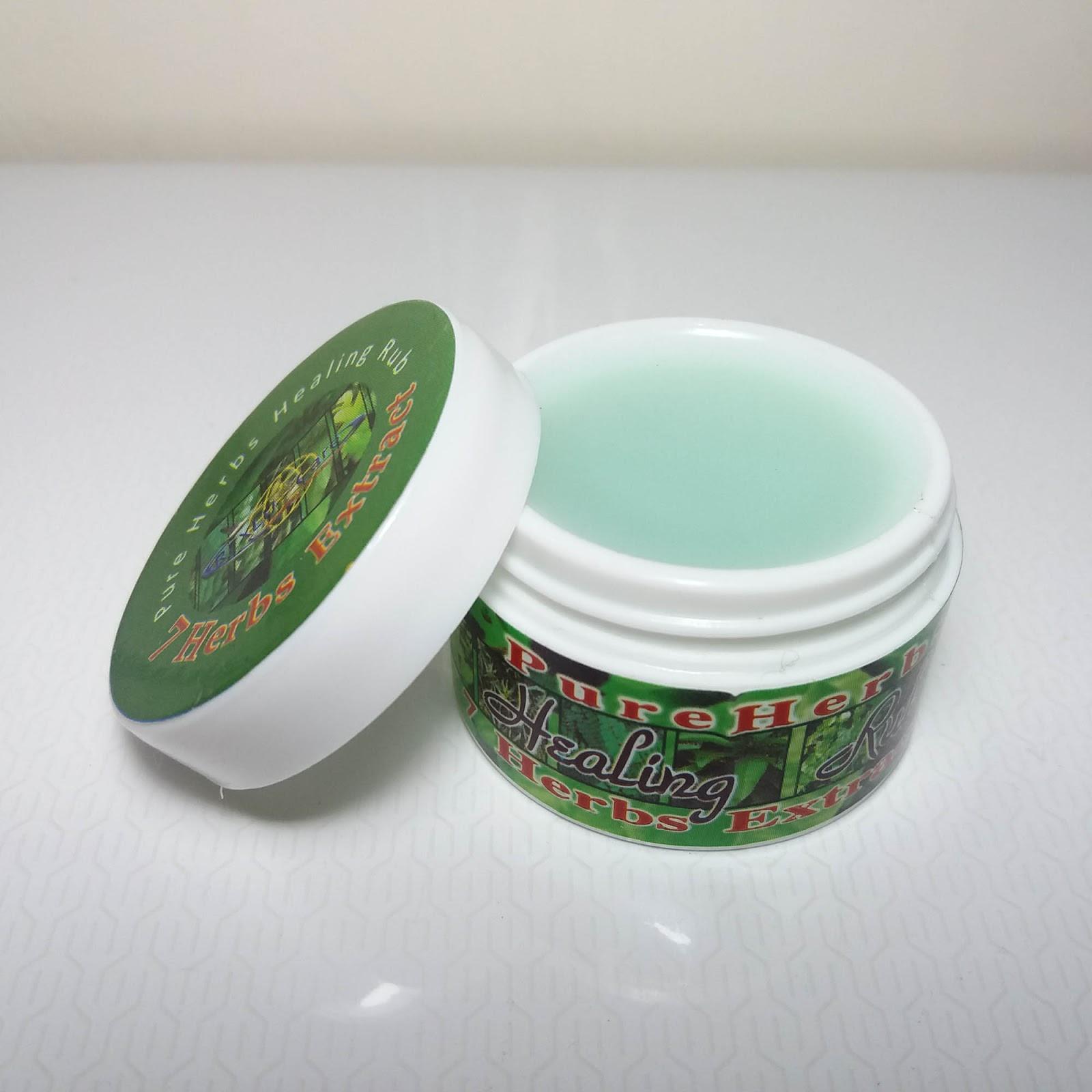 Smart Buy - Online Store: 7 Herbs Extract Pure Herbs Healing Rub
