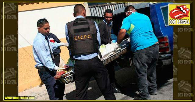 Consiguen el cadáver de un peluquero enrollado en una sábana en Aragua