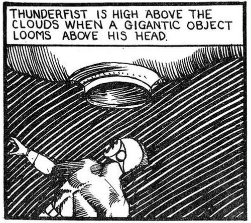 pappy s golden age comics blogzine number 2101 thunderfist punches