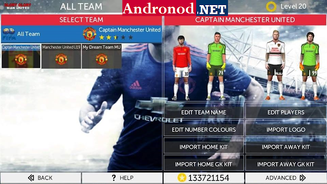 FTS 17 Mod Manchester United Edition Apk Data For Android