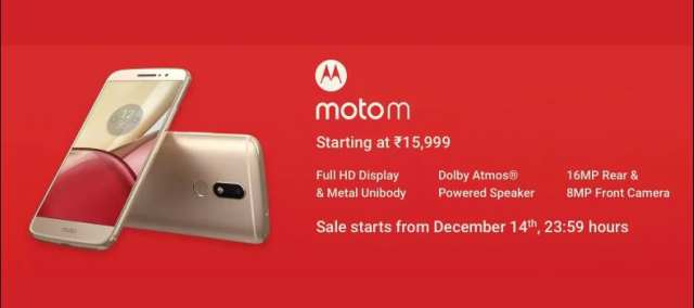 Motorola Has Launched Moto M Smartphone Officially Via Flipkart