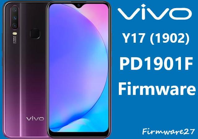 Firmware Vivo Y17 1902 (PD1901F) Mediatek