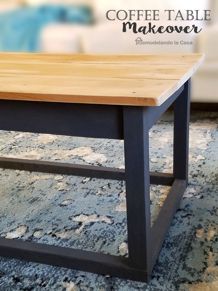 Remodelando La Casa Farmhouse Style Coffee Table Makeover: farm style coffee tables