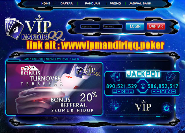 VipmandiriQQ, Judi Online, BandarQ, DominoQQ, Situs Poker Online, Situs Judi Online, Judi Domino