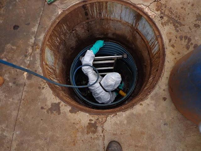 Três homens morrem após entrarem em tanque de posto de combustíveis