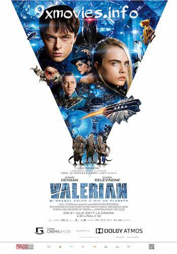 Valerian and The City of A Thousand Planets 2017 Dual Audio ORG Hindi 480p BluRay 400MB