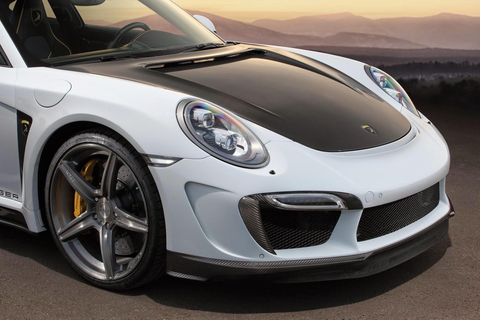 TopCar lanzó un kit para el Porsche 911 Turbo y Turbo S