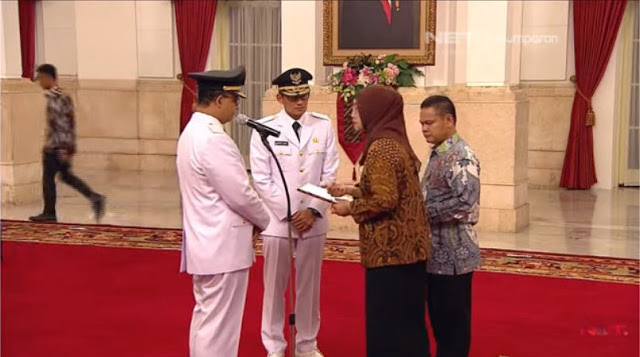 Live Streaming Pelantikan Gubernur dan Wakil Gubernur DKI Jakarta dari Istana Negara