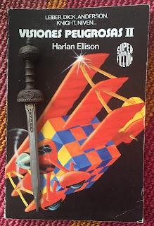 Portada del libro Visiones peligrosas 2, de varios autores.