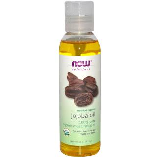 زيت الجوجوبا الطبيعي العضوي من اي هيرب Now Foods, Solutions, Certified Organic, Jojoba Oil, 8 fl oz (237 ml)