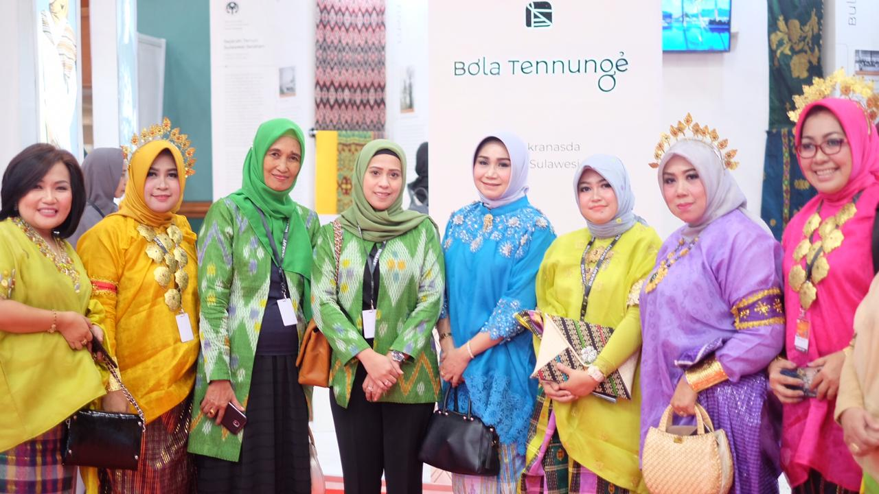 Ketua Dekranasda Sinjai Hadiri Pameran Inacraft di Jakarta