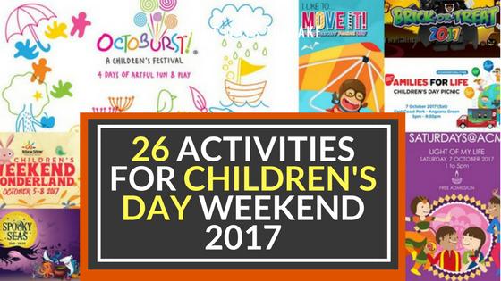 Cheekiemonkies Singapore Parenting Lifestyle Blog 26 Activities