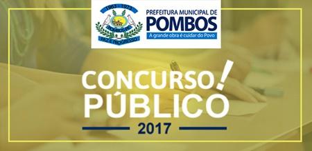 Concurso Prefeitura de Pombos 2017