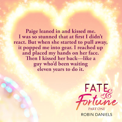 Teaser graphic Paige kissed me