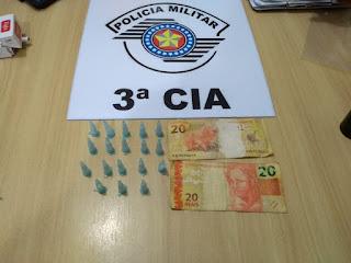 Policia Militar prende mais um traficante em Ilha Comprida