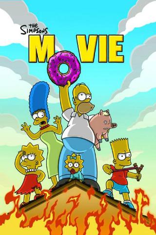 The Simpsons Movie [2007] [DVD5 + DVD9] [NTSC] [Latino]