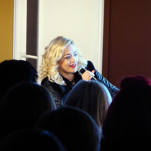 Midem 2014 : Rita Ora / photo S. Mazars