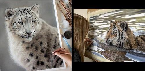 00-Danielle-Fisher-Realistic-Animal-Portrait-Pastel-Drawings-www-designstack-co